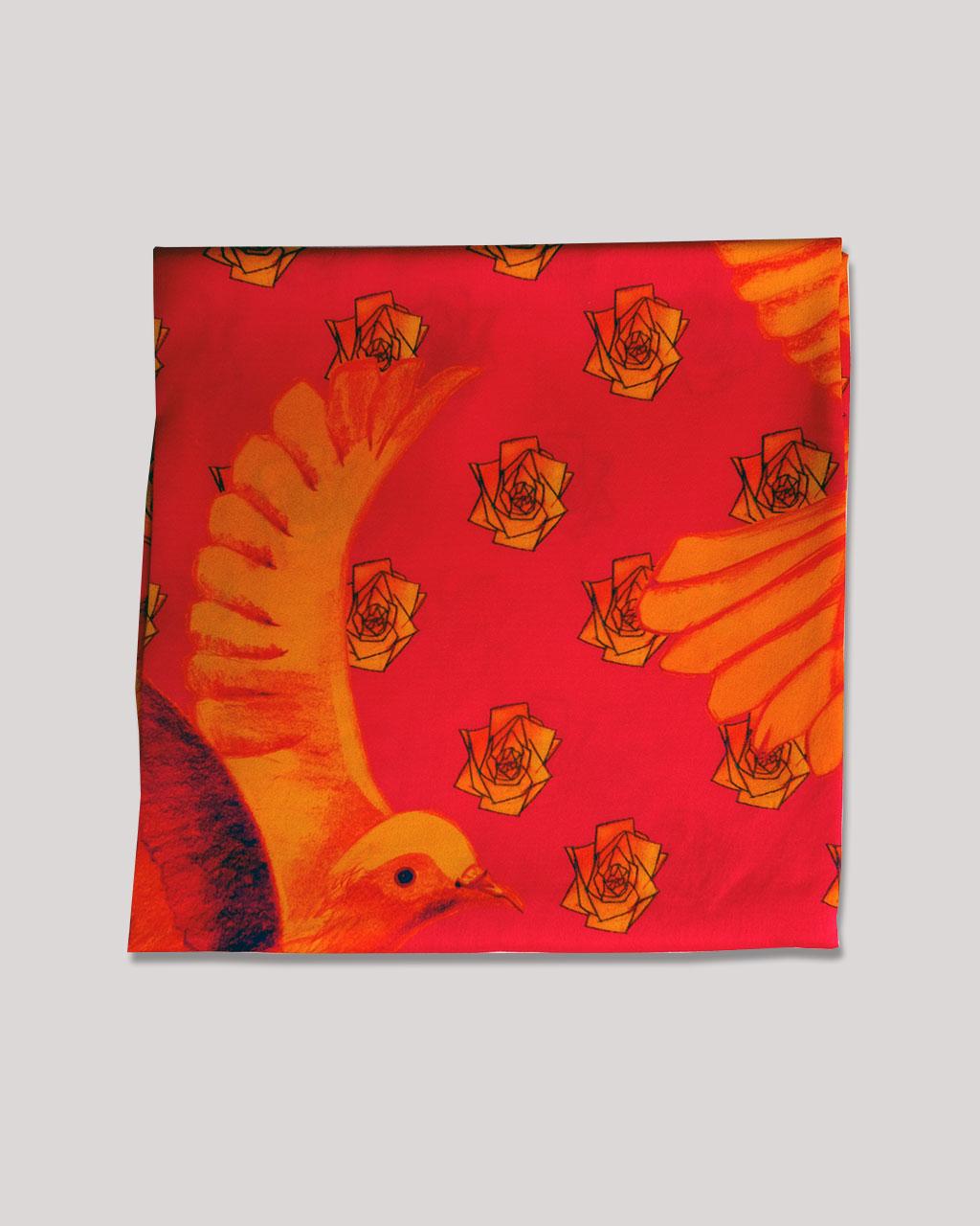Dove-Magenta-Silk-Scarf