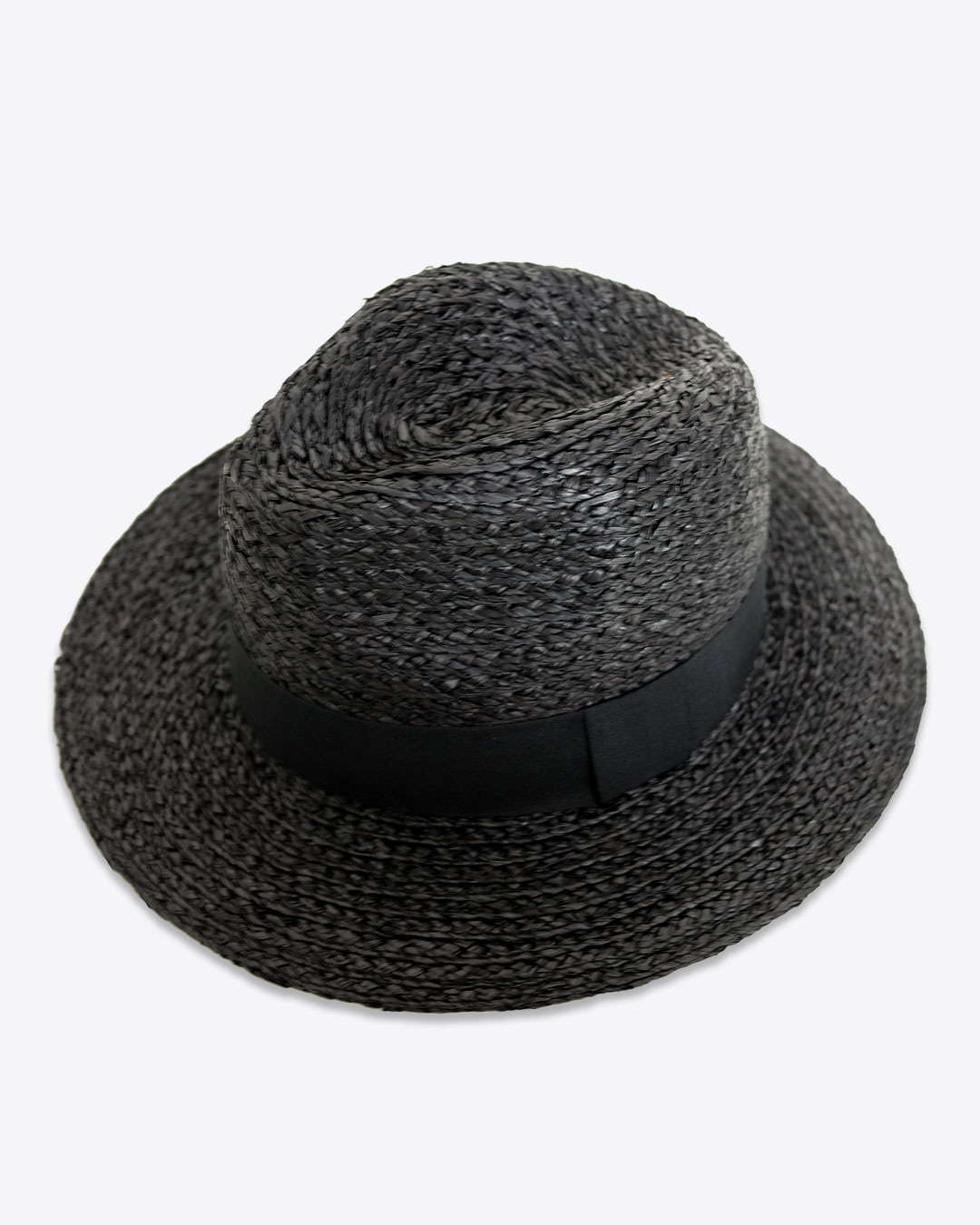 9804648fed00e Raffia Straw Fedora Hat – URBANE MUSE CHRIS SMITH™