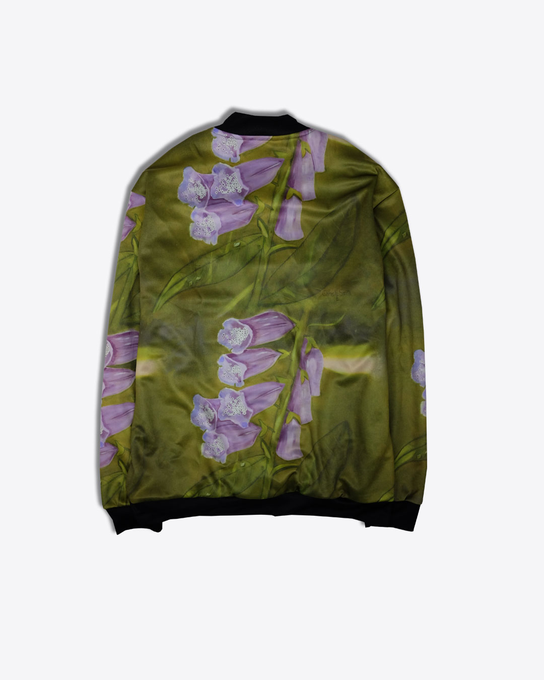 FOXGLOVE-photo2-URBANE-MUSE-CHRIS-SMITH-BOMBER-JACKET-with-Lining