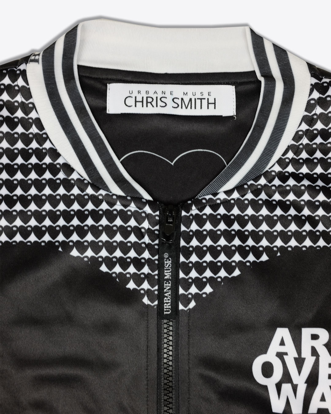 HEART-LOGO-photo2-URBANE-MUSE-CHRIS-SMITH-BOMBER-JACKET-with-Lining