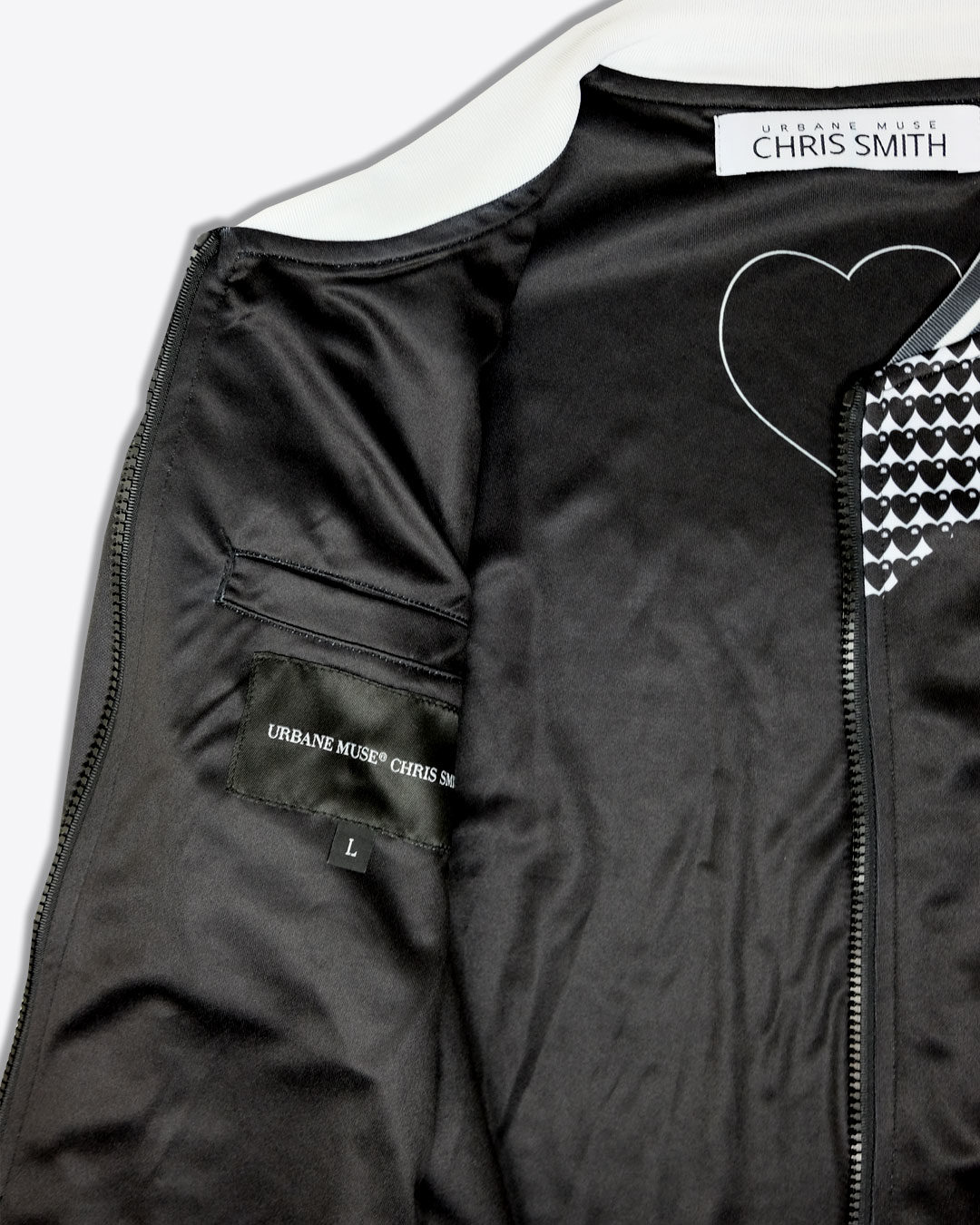 HEART-LOGO-photo5-URBANE-MUSE-CHRIS-SMITH-BOMBER-JACKET-with-Lining