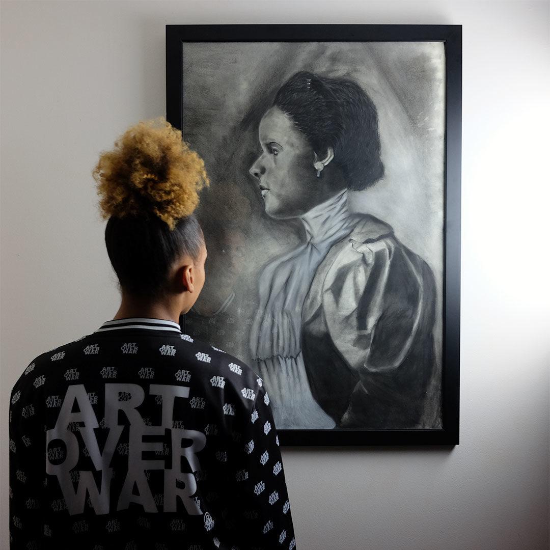 W-E-B-Du-Bois-African-American-Woman-portrait-Sketch-by-Chris-Smith