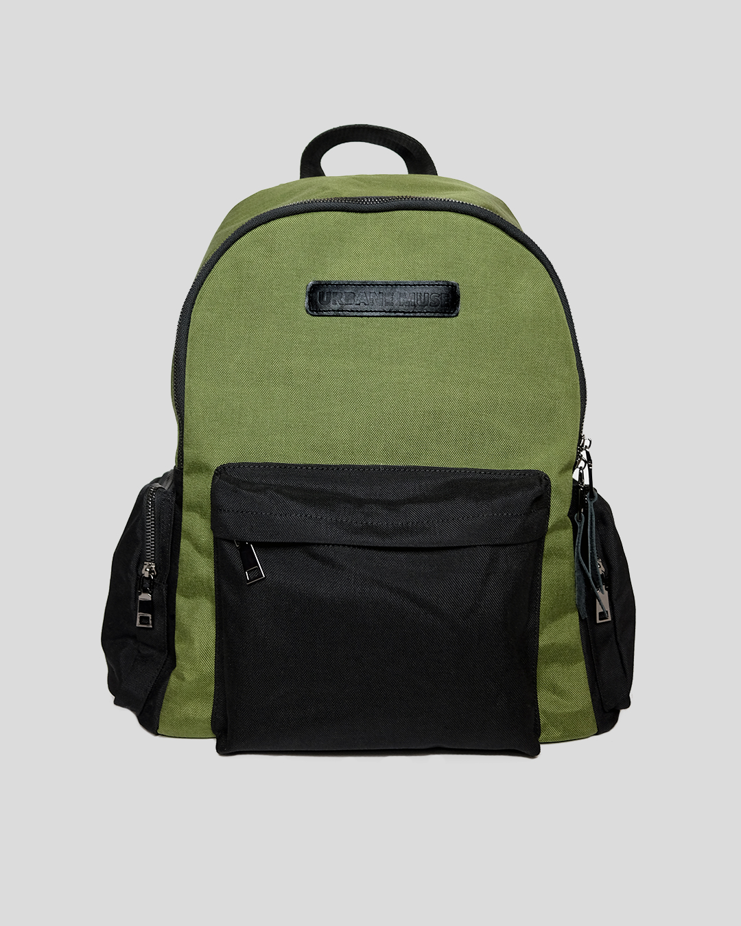 photo-1-GREEN-CORDURA-BACKPACK-URBANE-MUSE-CHRIS-SMITH