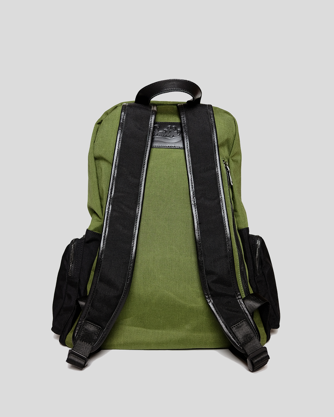 photo-3-GREEN-CORDURA-BACKPACK-URBANE-MUSE-CHRIS-SMITH
