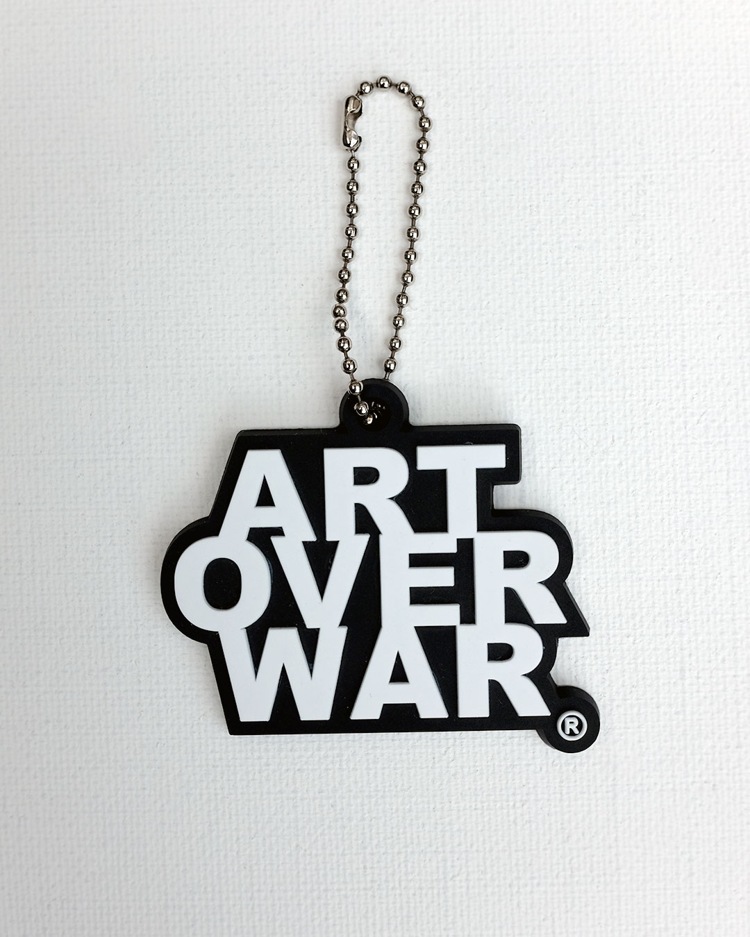 ART OVER WAR KEYCHAIN